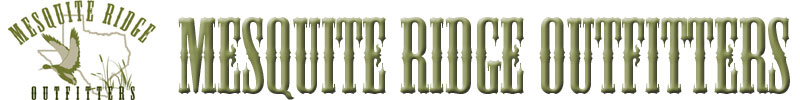 Mesquite Ridge Outfitters logao and name